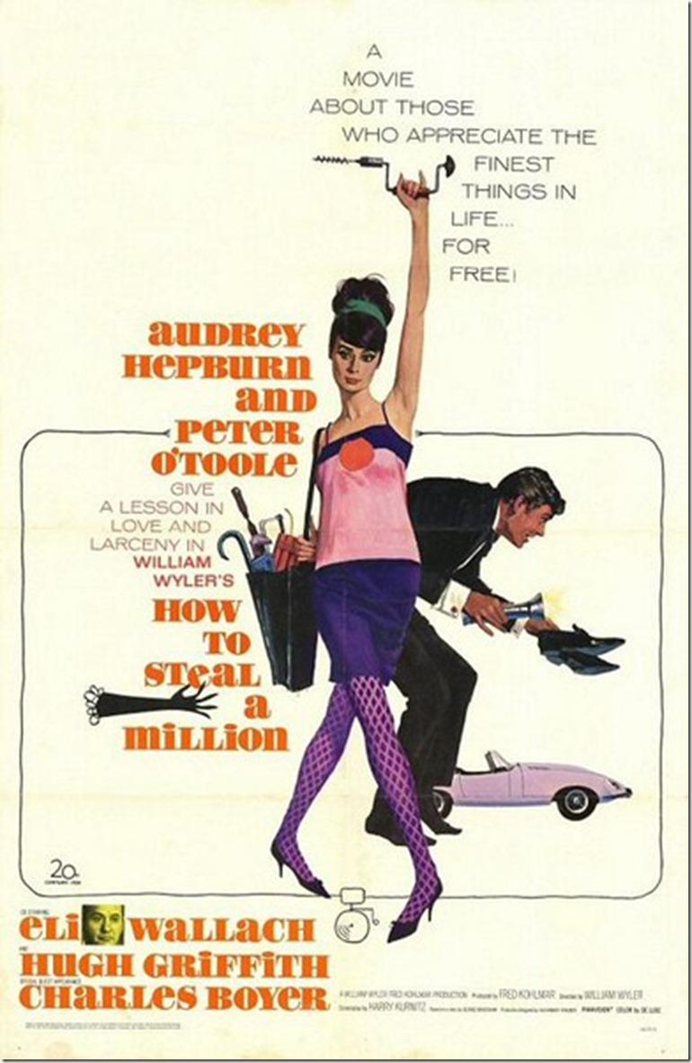 How to Steal a Million Movie Poster 1966