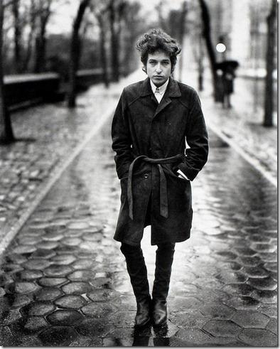 Bob Dylan 1965 - Central Park NYC by Richard Avedon