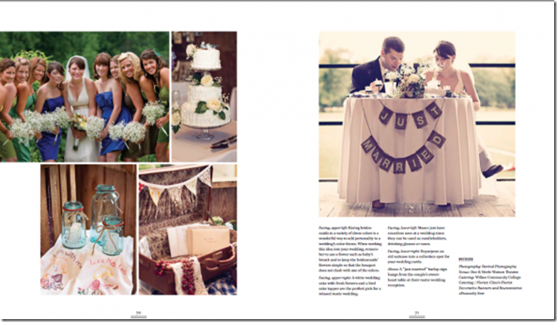 Rustic Wedding Chic Book featuring Revival Photography