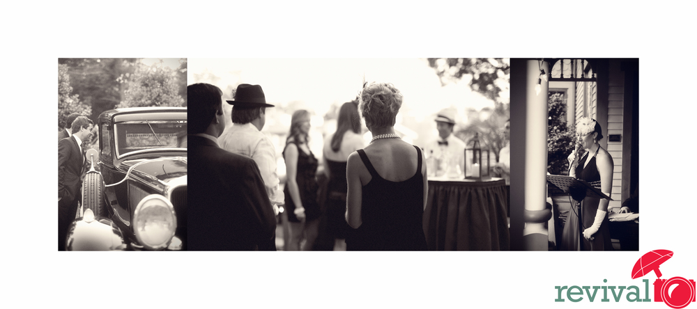 1920s Speakeasy Party Event Hickory NC Photography by Revival Photography