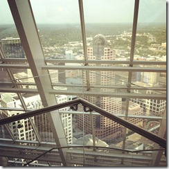 "The ""Executive Floor"" - On top of the Duke Energy Building in Charlotte, NC Revival Photography"