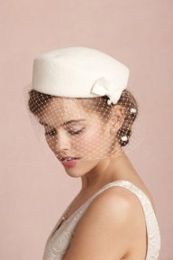 Vintage Bride Inspiration on the Revival Photography Blog - Hairpiece by BHLDN