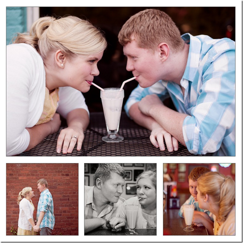 Styled engagement photo shoot Revival Photography with Tabatha Hefner with Salon Beyond Hickory, NC