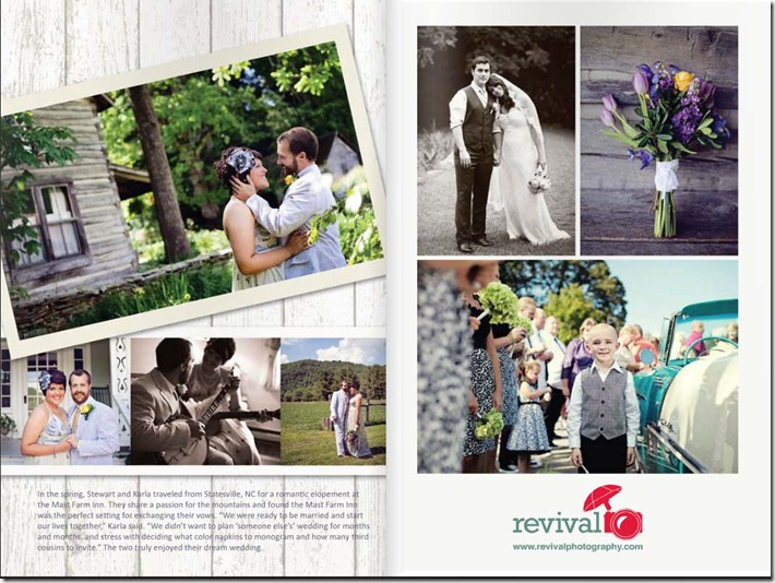 Revival Photography featured in the High Country Wedding Guide 2013 edition high country photographers photographers in the high country