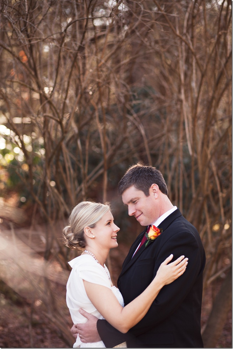 Intimate wedding ceremony at the mast farm inn by revival photography