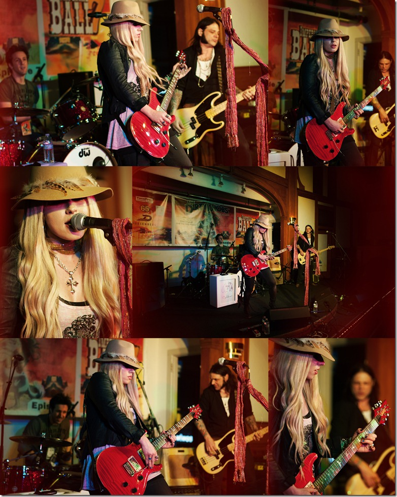 Photos by Revival Photography - Orianthi at the Imperial Ballroom with The Dirtyknobs