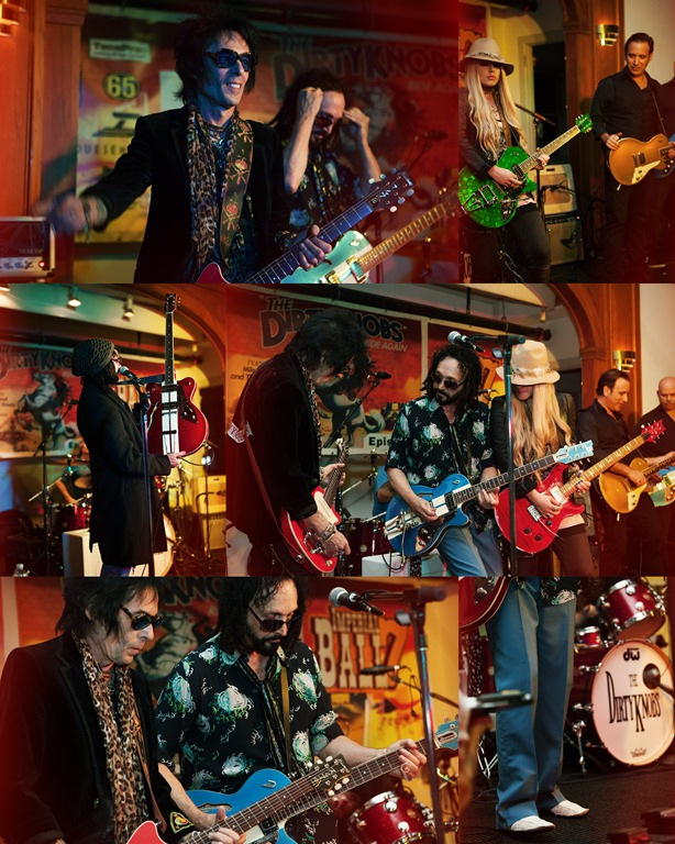 Photos by Revival Photography - The Dirtyknobs featuring Mike Campbell and special guests Earl Slick and Orianthi at the Imperial Ballroom