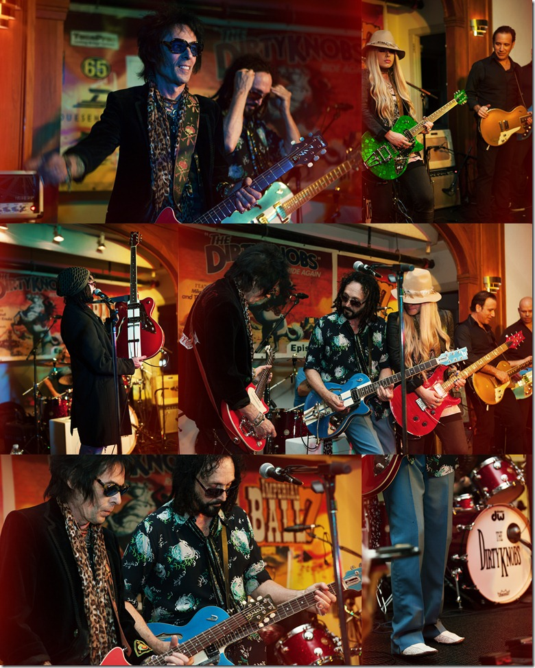 Photos by Revival Photography - The Dirtyknobs featuring Mike Campbell and special guests, Earl Slick, and Orianthi
