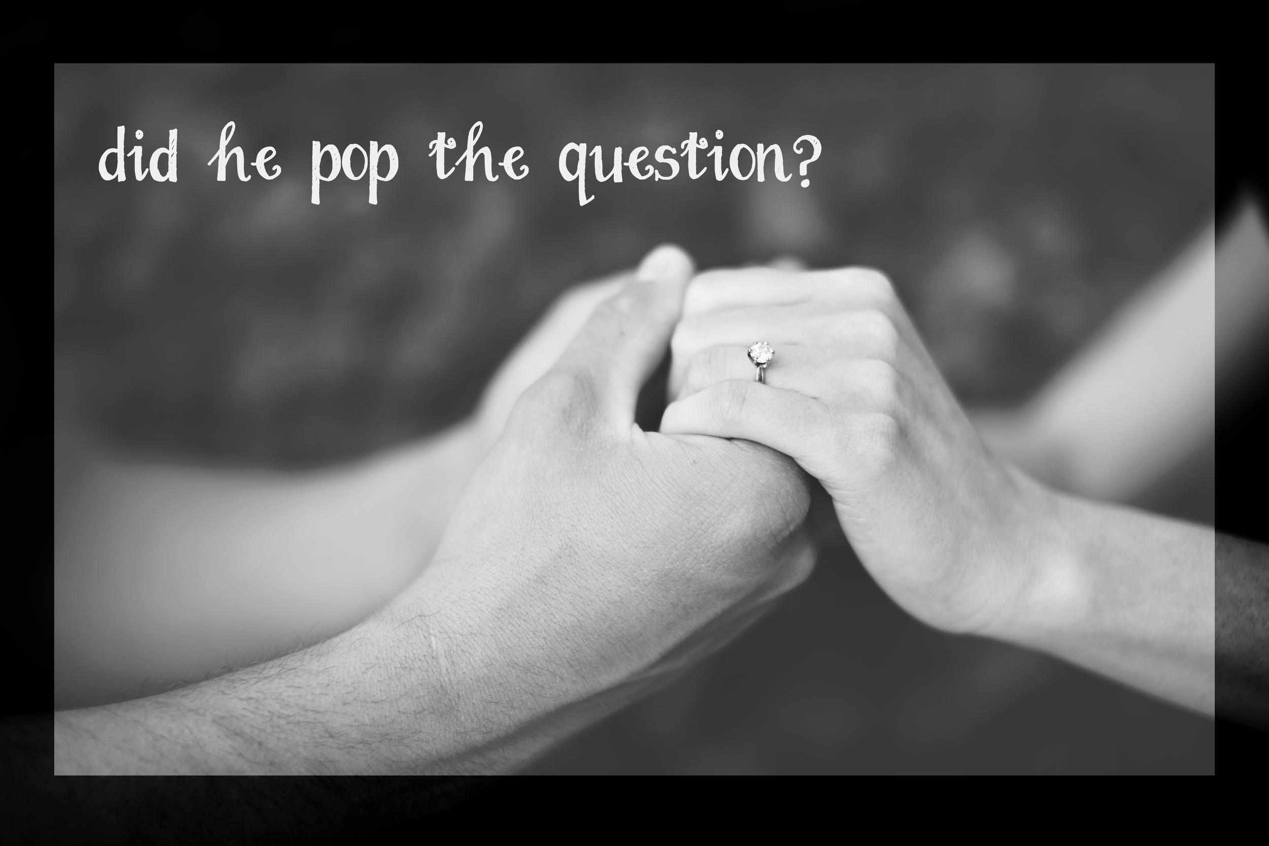 Did he pop the question Giveaway by Revival Photography 2013 Win a $100 Gift Card from Revival Photography