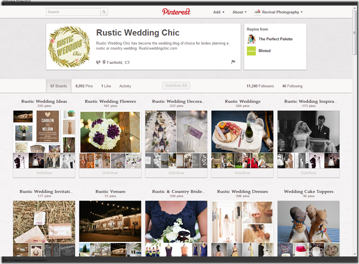 Rustic Wedding Chic  rusticwedchic  on Pinterest