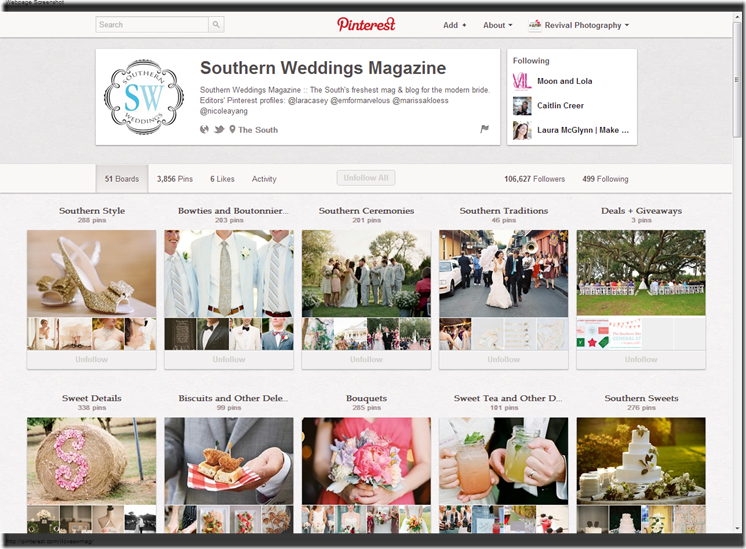 Southern Weddings Magazine  iloveswmag  on Pinterest