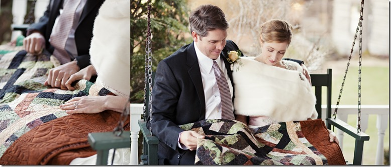 Photos by Revival Photography Mountain Wedding at The Mast Farm Inn in Valle Crucis NC Photo