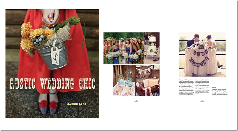 Revival Photography Featured in The Rustic Wedding Chic Book Photo