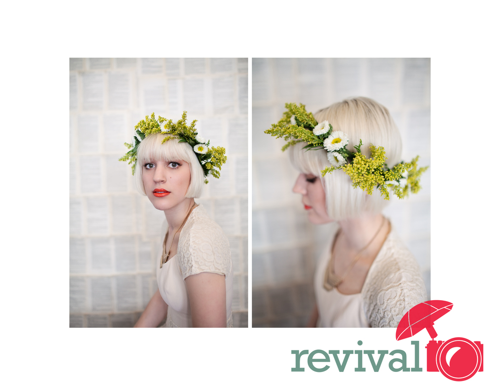 Floral Headdress Trend Photos by Revival Photography Heather Barr Photo