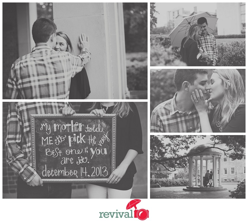 UNC Chapel Hill Engagement Session Chapel Hill Photographers Revival Photography Photos by Revival Photography Photo