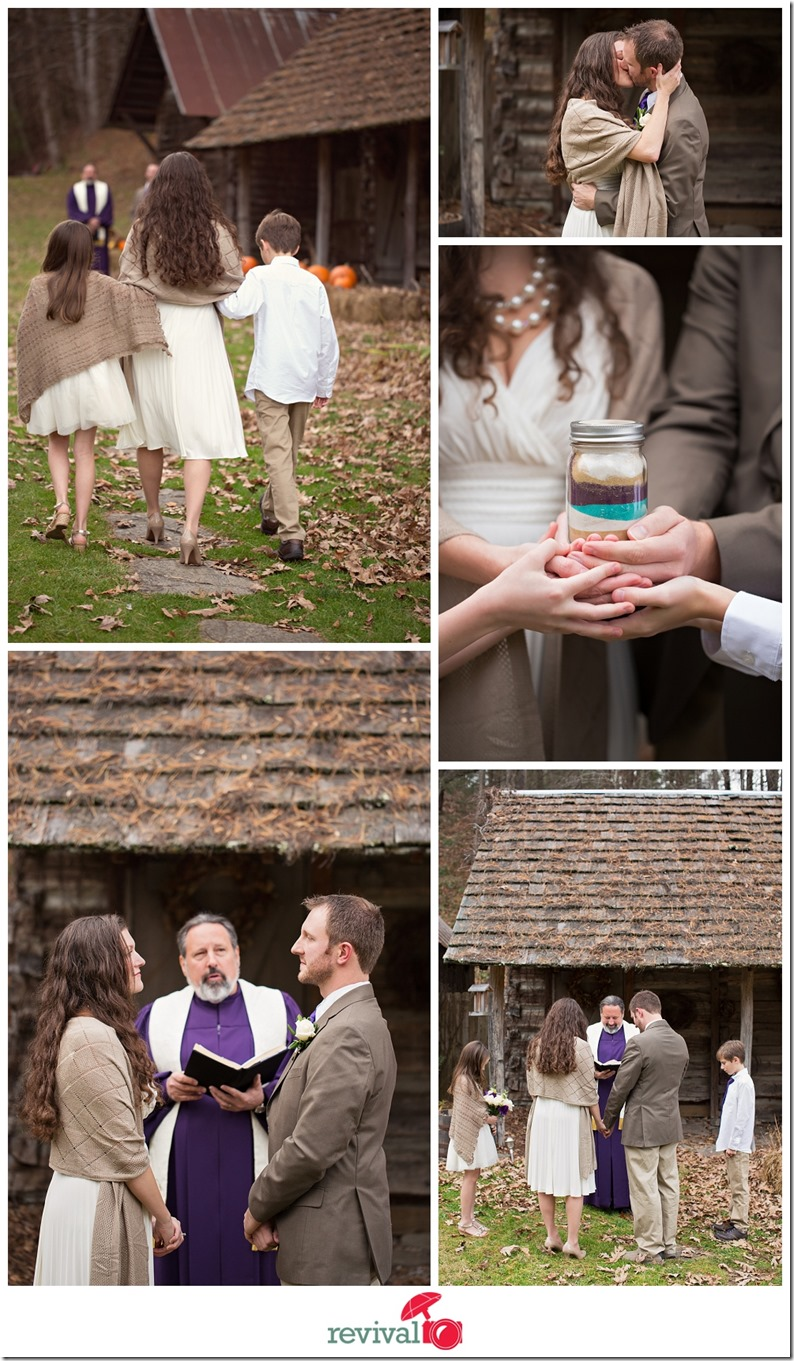 Sweet Fall elopement at The Mast Farm Inn in Valle Crucis, NC Photos by Revival Photography Heather Barr NC Elopement Photographer Photo