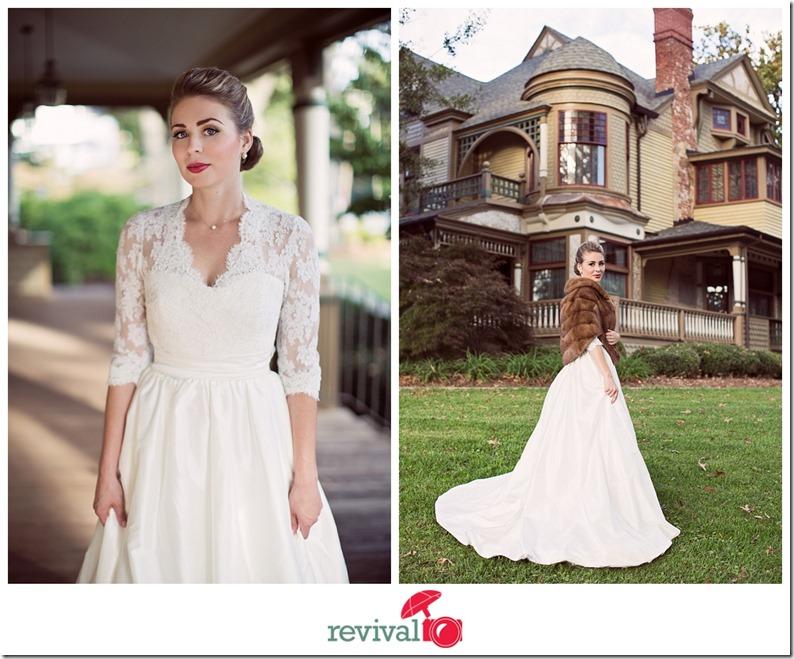 Winter Vintage Wedding Dresses