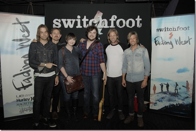 Switchfoot Pre-Show VIP Photo with Jason and Heather