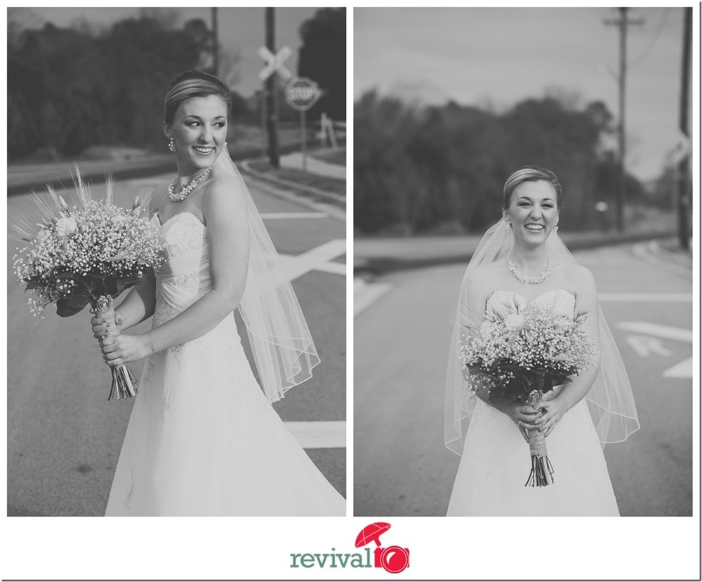 Photos by Revival Photography Simple and sweet mix of urban and rustic Grand Hall wedding in Mount Holly NC Weddings Photo