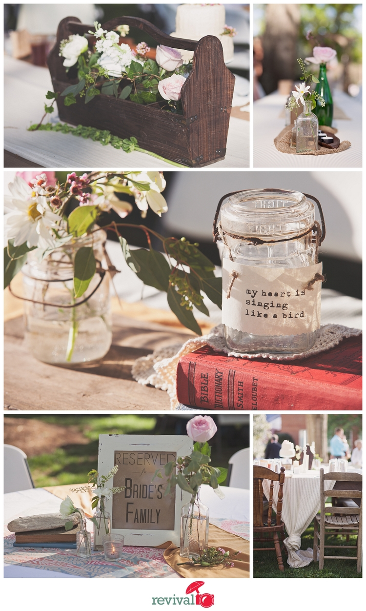 7 tips on planning a diy vintage rustic wedding and keeping it