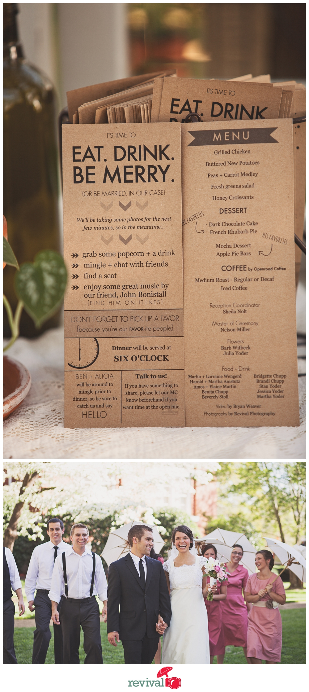 Creative wedding ideas How to Plan a DIY Vintage Rustic Chic Wedding Keeping it Thrifty Photos by Revival Photography Photo