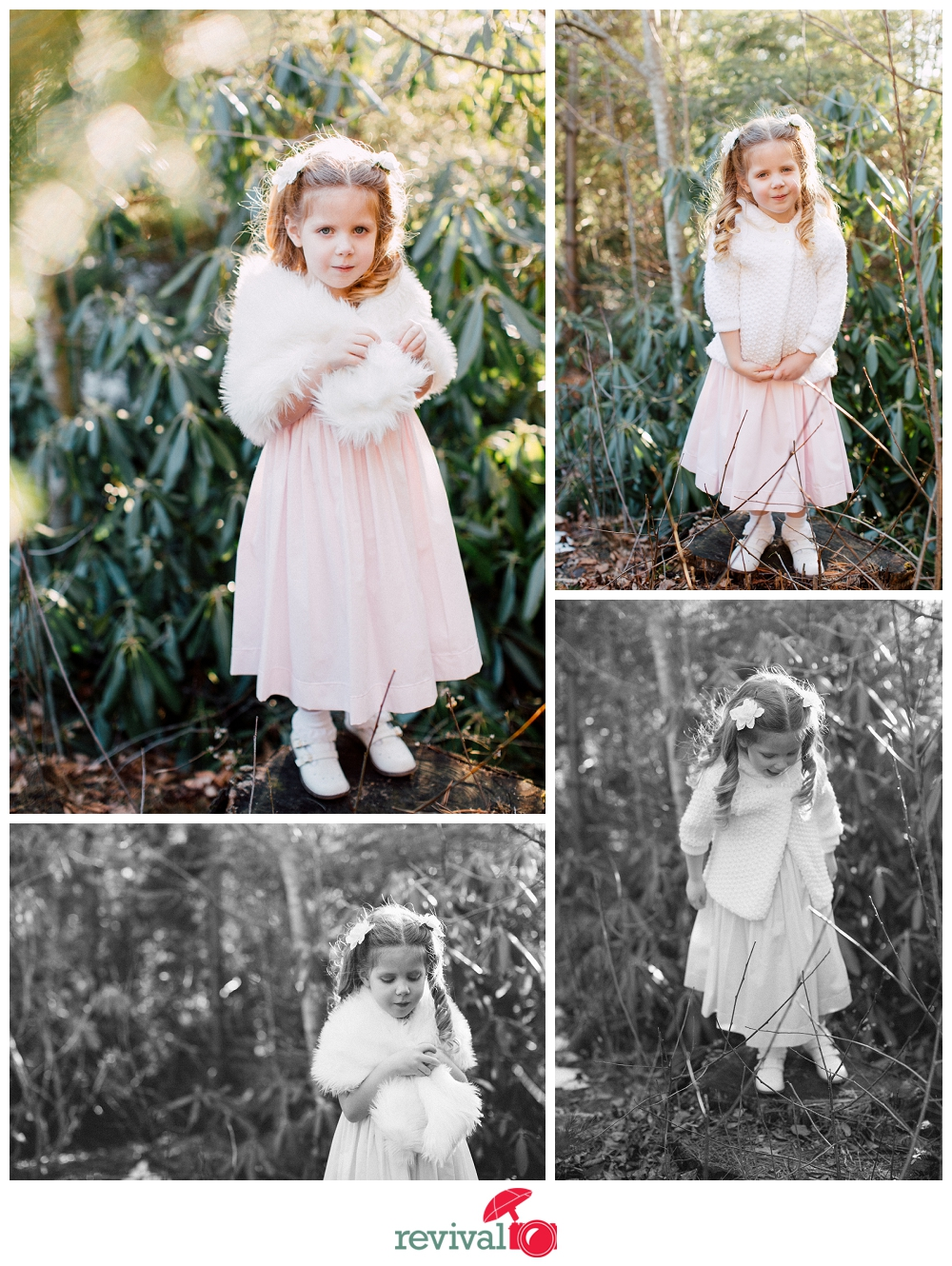 Vintage inspired child photographs by Revival Photography