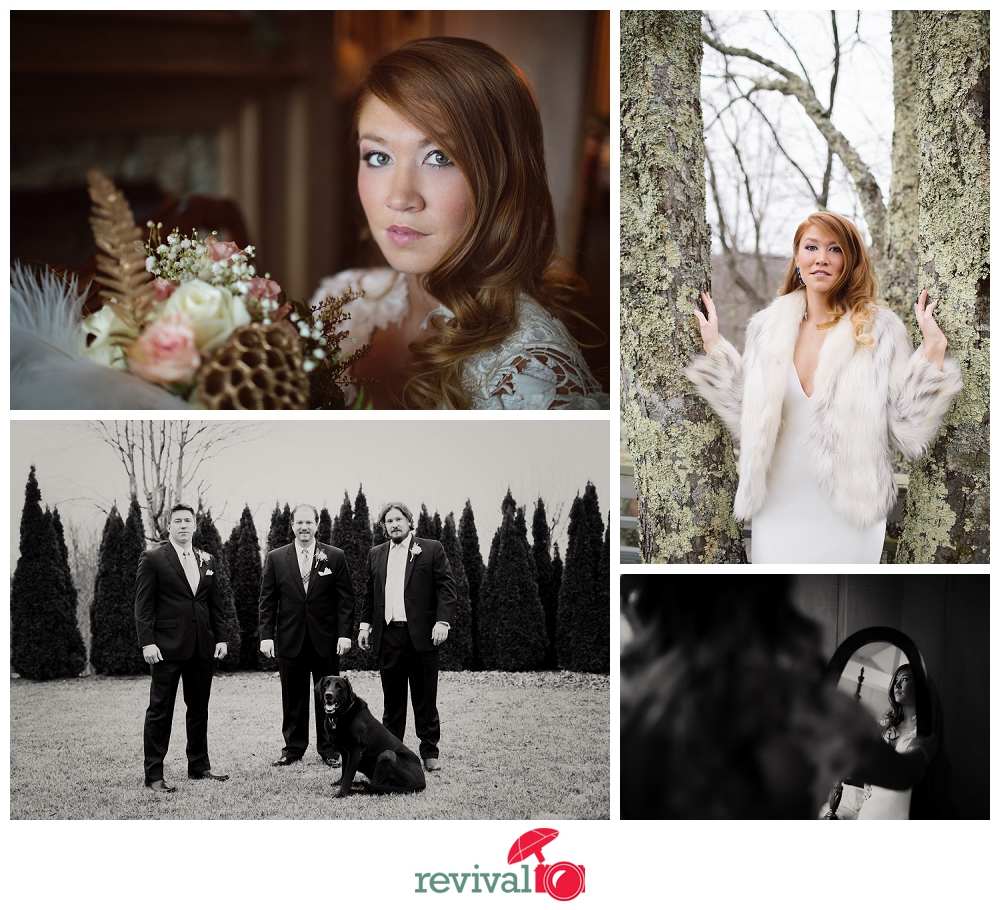 Luxurious winter mountain wedding at The Crestwood Resort and Spa in Blowing Rock NC Photos by Revival Photography
