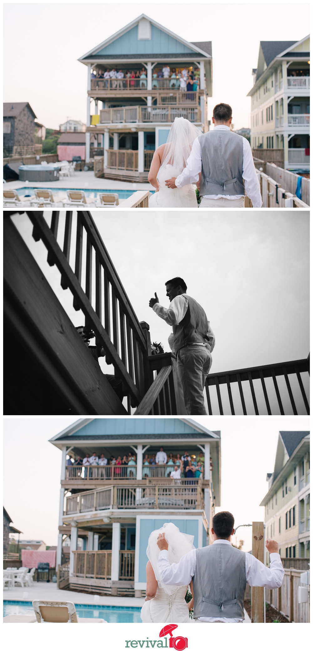 Photos by Revival Photography OBX Beach Destination Wedding Kill Devil Hills, NC Revival Photography NC Wedding Photographers www.revivalphotography.com