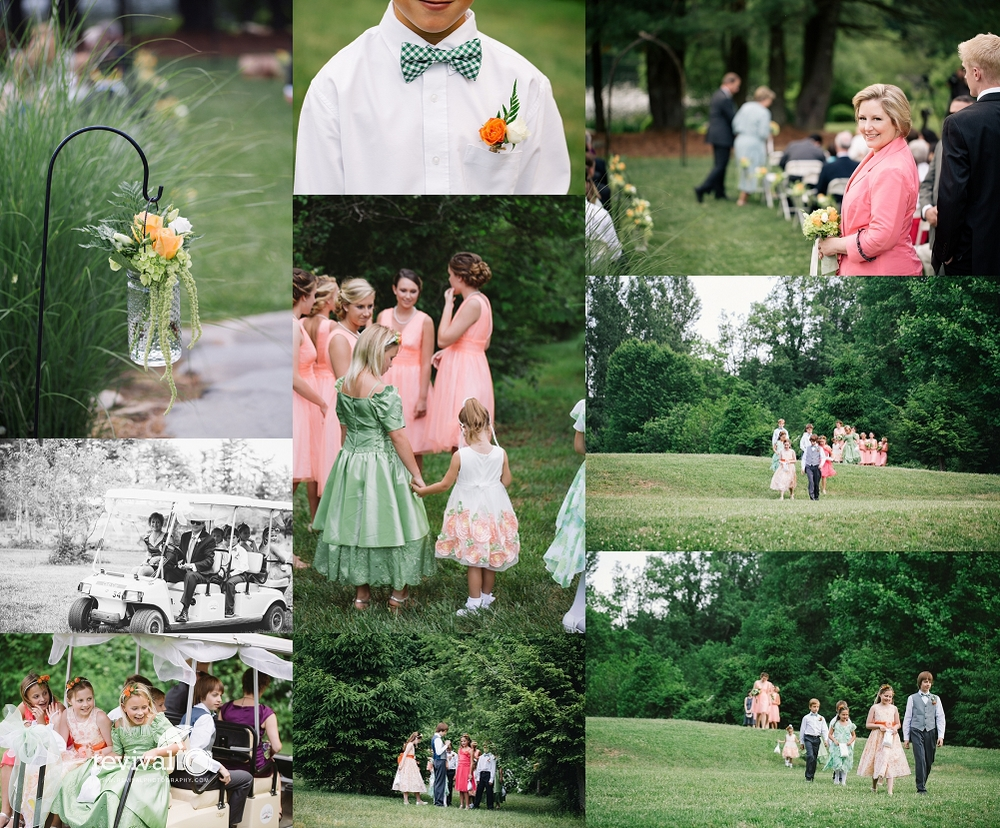 Earthy Elegance Outdoor Ceremony Details Photos by Revival Photography Wedding at the Highland Lake Inn in Flat Rock NC Wedding Photos by www.revivalphotography.com