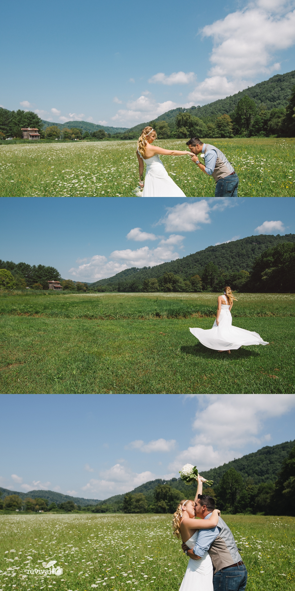 A Mountain Destination Elopement at The Mast Farm Inn Photos by Revival Photography www.revivalphotography.com