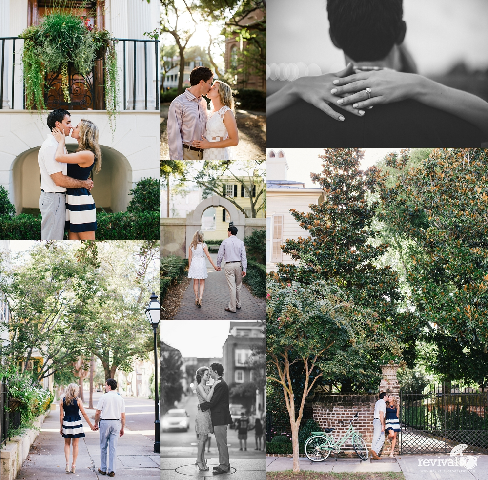 Photos by Revival Photography Charleston Engagement Session Downtown Charleston Session Charleston Photographers www.revivalphotography.com