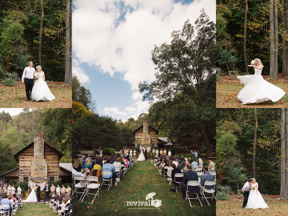 Photos by Revival Photography Whimsical Rustic Fairytale Wedding at Leatherwood Mountain Revival Photography Weddings NC Wedding Photographers www.revivalphotography.com