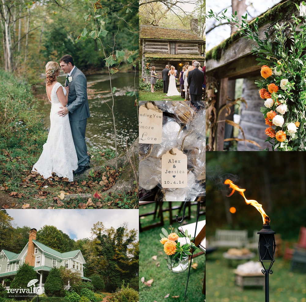 Jess + Alex: An Intimate B & B Wedding at The Mast Farm Inn, Valle ...