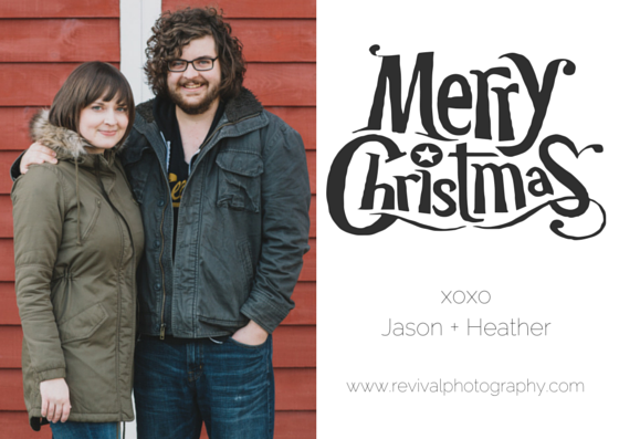 Merry Christmas from Revival Photography - A Christmastime Message www.revivalphotography.com/blog