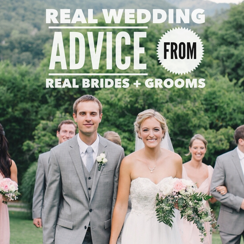 Real Wedding Advice from Real Brides and Grooms by Revival Photography www.revivalphotography.com
