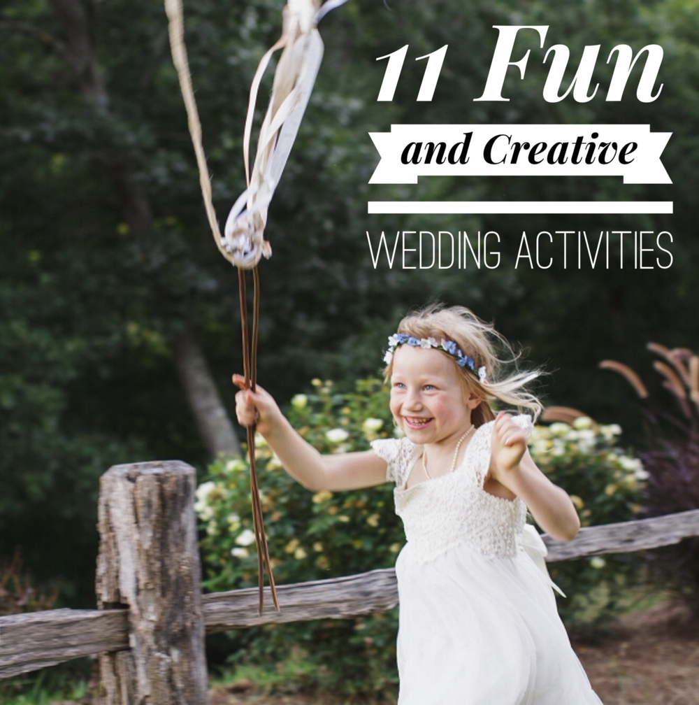 11 Fun + Creative Wedding Activity Ideas For Your Guests