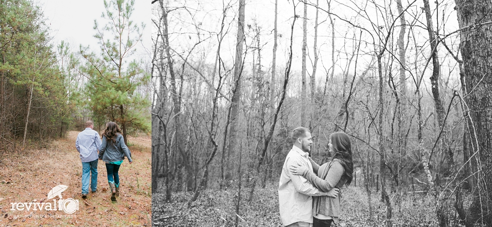 Photos by Revival Photography North Carolina Engagement Session Rustic Winter Engagement www.revivalphotography.com