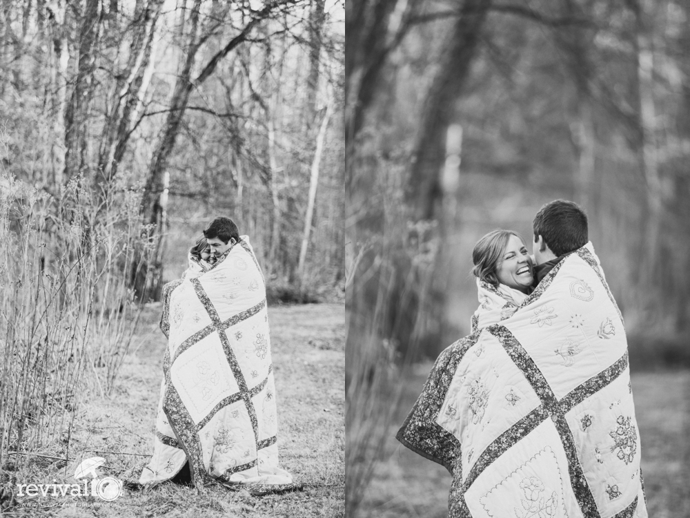 Photos by Revival Photography Winter Engagement Session at Tanglewood Park North Carolina NC Wedding Photographers www.revivalphotography.com