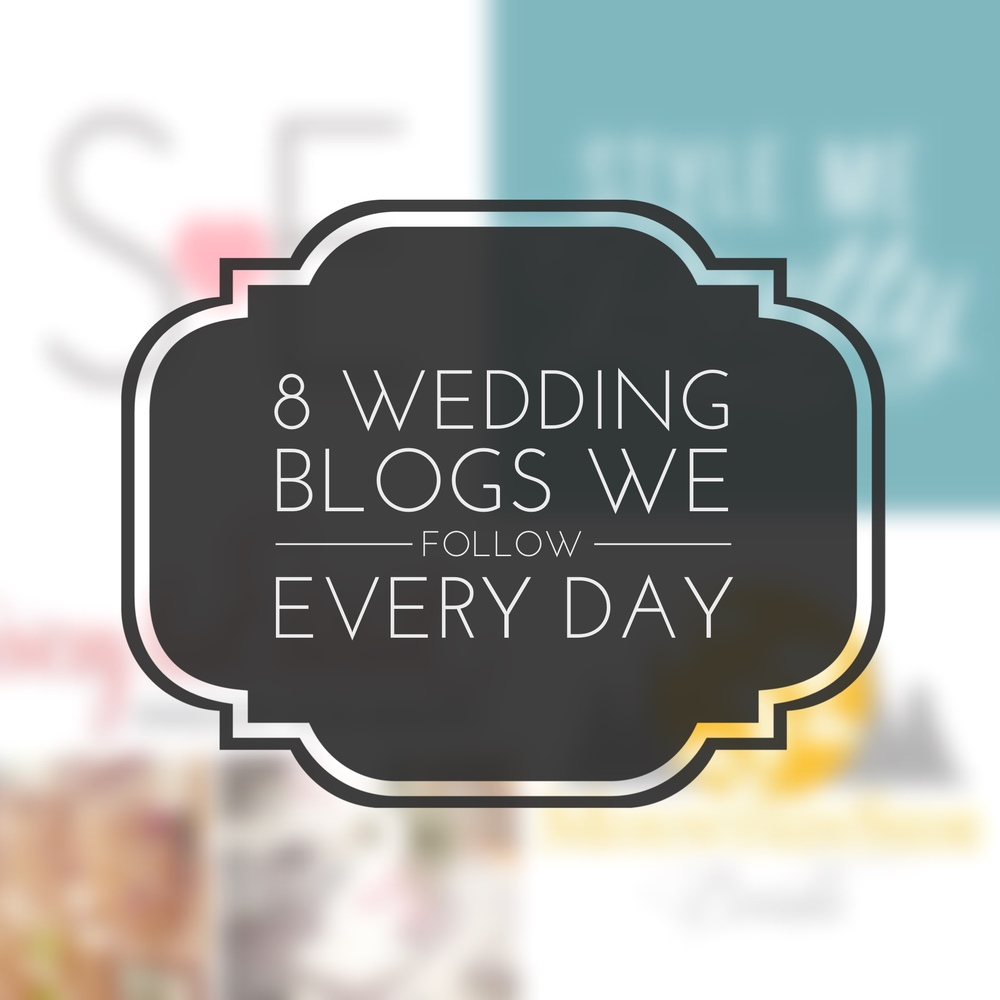 Top 8 Favorite Wedding Blogs (that we follow every day) Revival Photography Blog www.revivalphotography.com