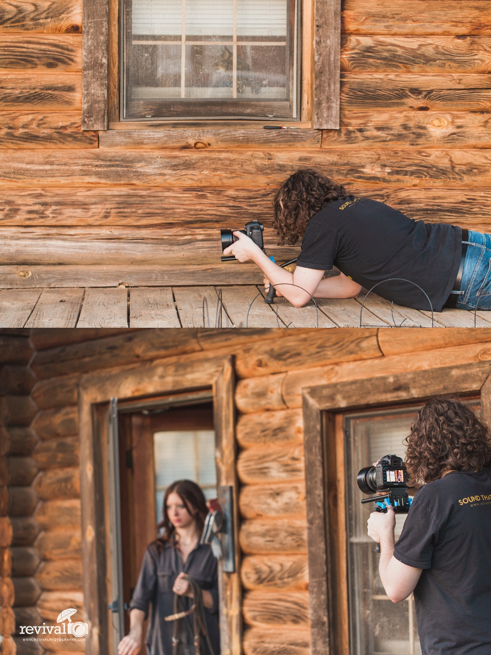 Behind the Scenes with Revival Photography NC Wedding and Portrait Photographers