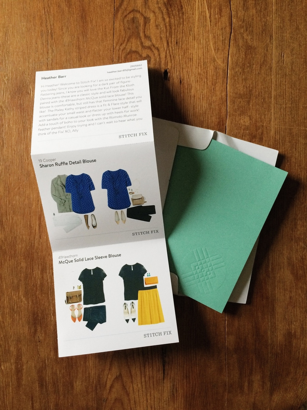My 1st Experience with Stitch Fix - a review
