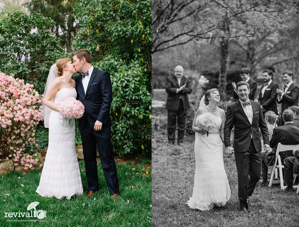 Betsy + Mark: A Garden Wedding in Hickory, NC by Revival Photography ...