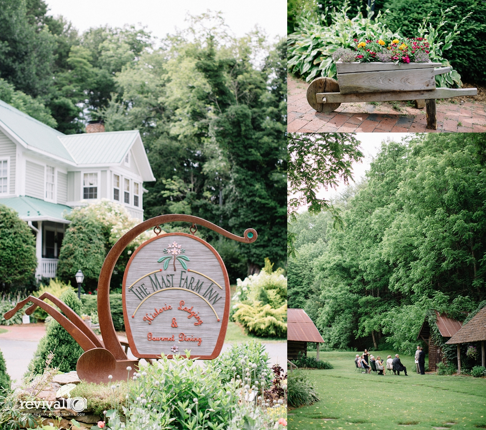 Allison + Wilson: An Intimate B & B Ceremony in Valle Crucis, NC ...