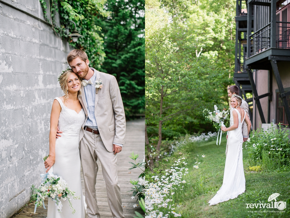 Heidi + Grant: A Vintage-Rustic Inspired Destination Wedding in the Blue Ridge Mountains of Asheville, NC www.revivalphotography.com