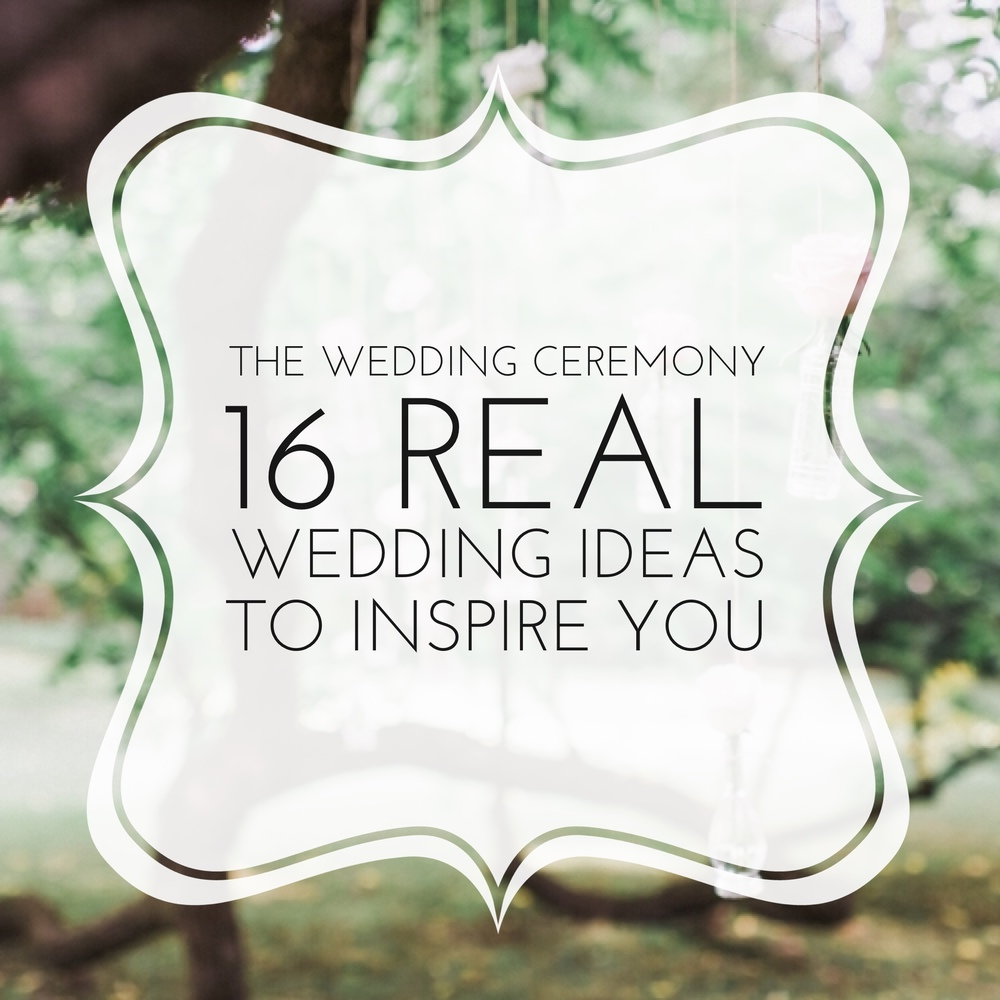 The Wedding Ceremony: 16 Real Wedding Ideas to Inspire You by Revival Photography www.revivalphotography.com