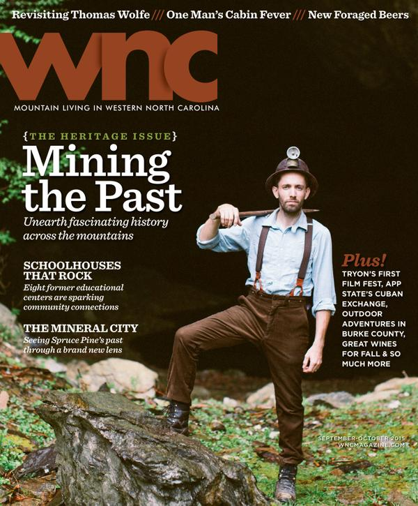 """Seeing Spruce Pine's Past Through a Brand New Lens"" - a Cover Story Feature in WNC Magazine Photographed by Revival Photography"