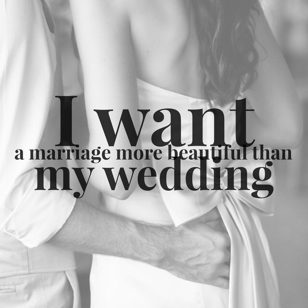 I want a marriage more beautiful than my wedding revival i want a marriage more beautiful than my wedding junglespirit Choice Image