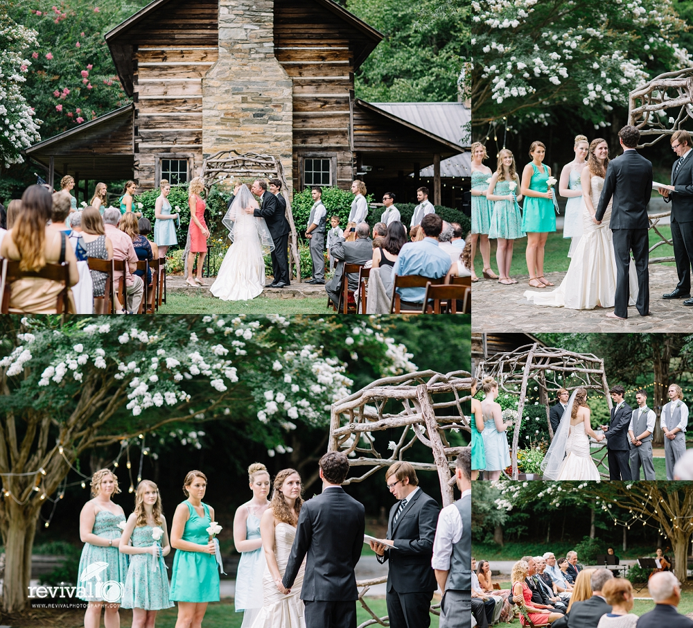Mariah + Garrett: A Wedding Weekend Celebration at Leatherwood Mountain Resort www.revivalphotography.com