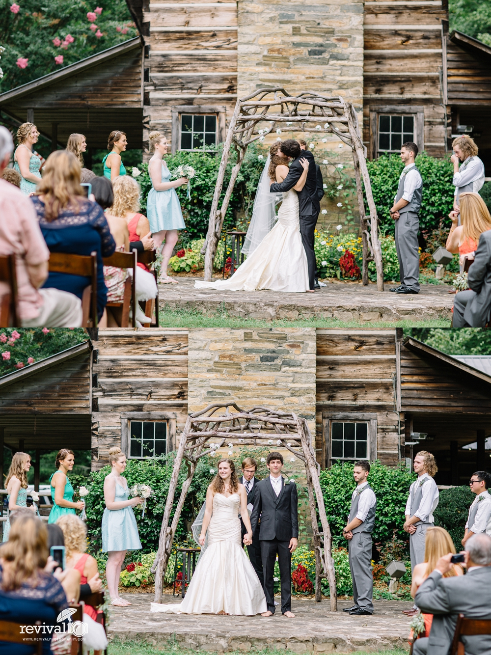 Mariah + Garrett: A Wedding Weekend Celebration at Leatherwood Mountain Resort www.revivalphotography.com