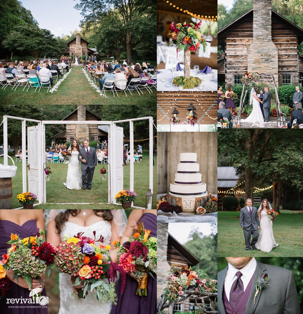 Katie + Kyle: A Rustic Fall Wedding At Leatherwood